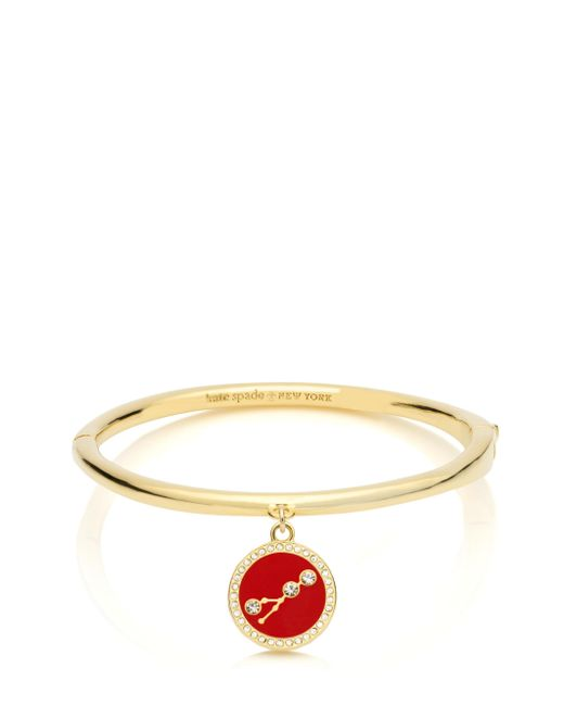 kate spade new york | Multicolor In The Stars Taurus Bangle | Lyst