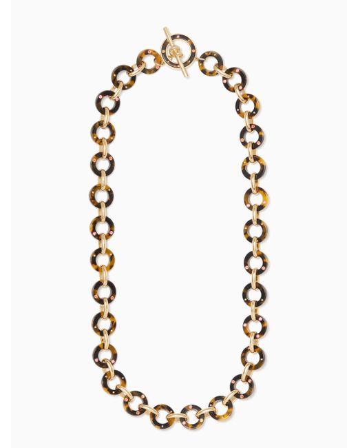 Kate Spade | Black Fringe Appeal Necklace | Lyst