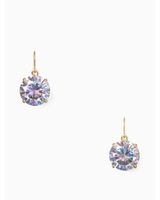 Kate Spade | Metallic Shine On French Wire Drop Earrings | Lyst
