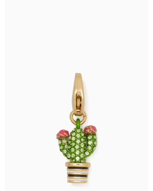 Kate Spade | Metallic How Charming Cactus Charm | Lyst