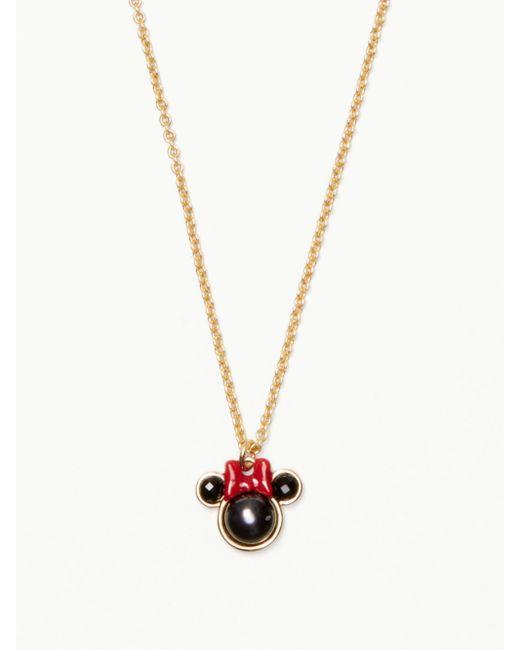 Kate Spade | Metallic For Minnie Mouse Mini Pendant | Lyst