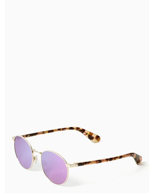 Kate Spade - Multicolor Adelais Sunglasses - Lyst