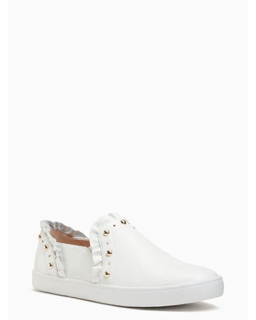 Kate Spade - White Loralia Sneakers - Lyst