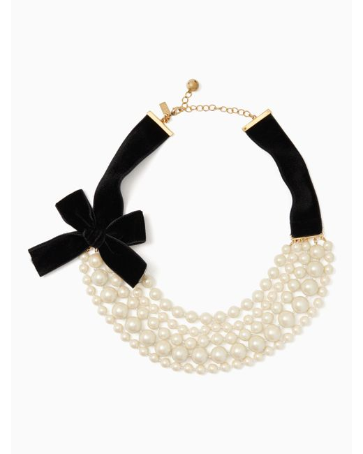 Kate Spade | Multicolor Girls In Pearls Necklace | Lyst