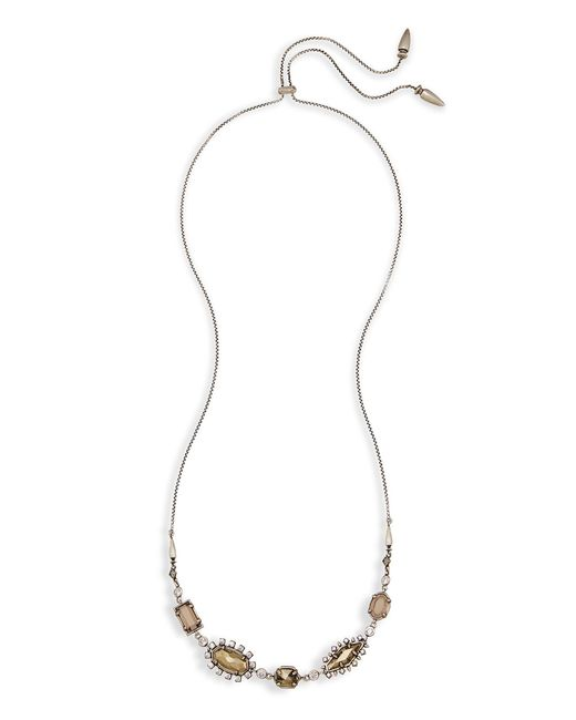 Kendra Scott - Metallic June Long Necklace - Lyst