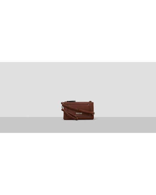 Kenneth Cole Reaction | Brown About Face Crossbody Bag | Lyst