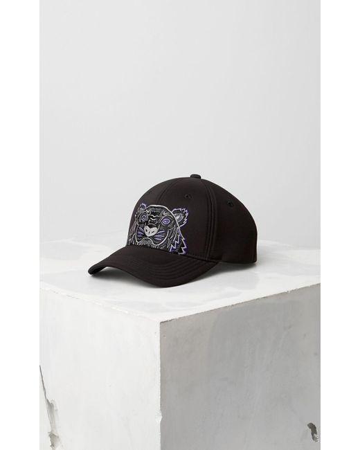 Neoprene Tiger cap KENZO pour homme en coloris Black