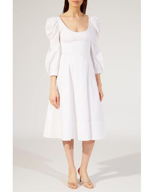 Coleen dress - White Khaite WB2eET