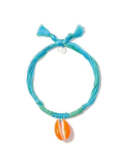 Aurelie Bidermann   Blue Shell String Bracelet   Lyst