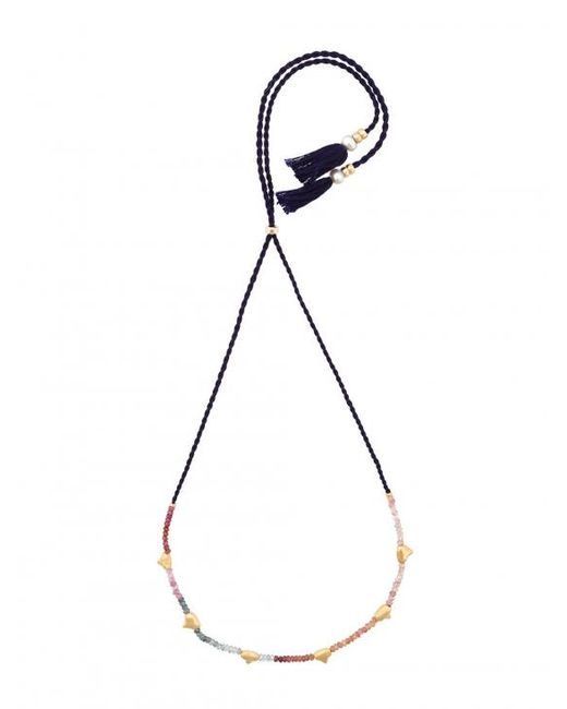 Lizzie Fortunato | Multicolor Simple Tooth Necklace | Lyst