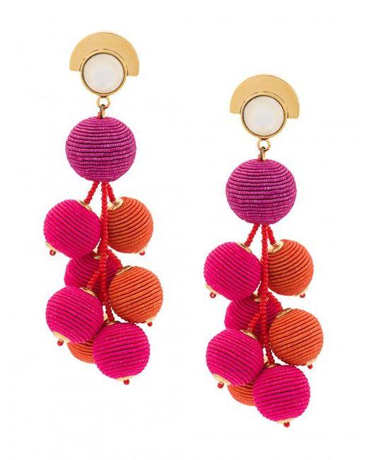 Lizzie Fortunato - Multicolor Hanging Drop Earrings - Lyst