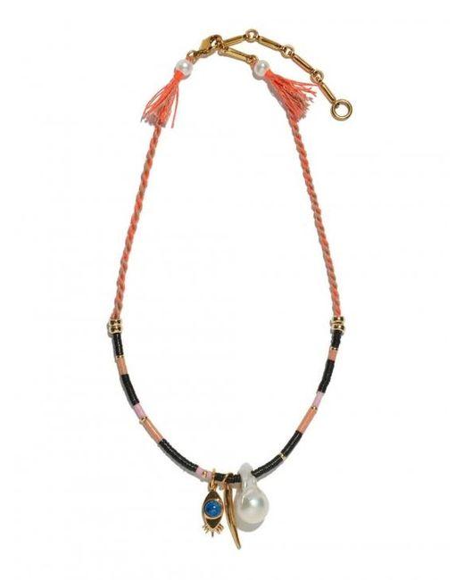 Lizzie Fortunato | Metallic Surfer Girl Necklace | Lyst