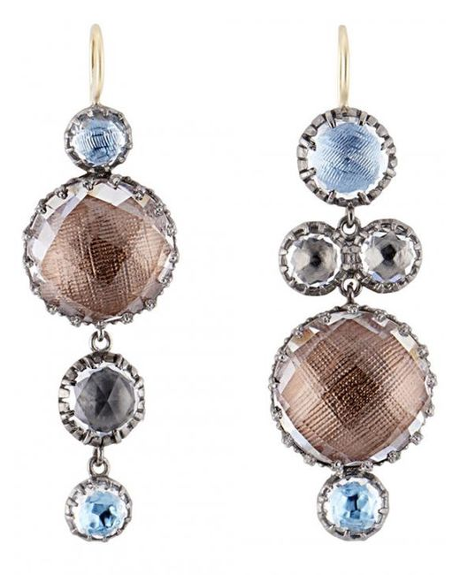 Larkspur & Hawk - Multicolor Sadie Mis-matched Bubble Earrings - Lyst