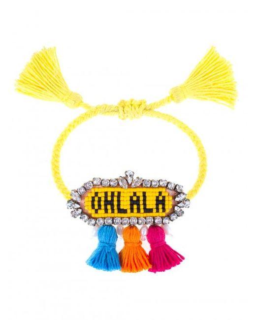 Shourouk   Yellow 'ohlala' Bracelet   Lyst