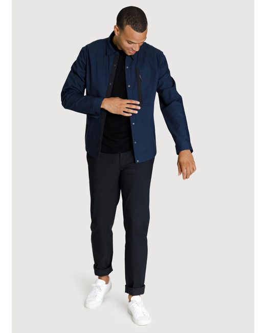 Kit and Ace - Blue Navigator Stretch Jacket for Men - Lyst