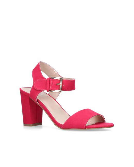 Carvela Kurt Geiger - Pink 'sadie' Heel Sandals - Lyst