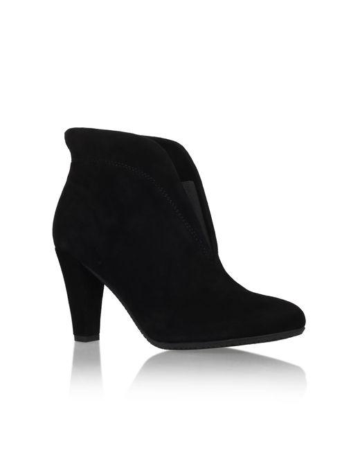 Carvela Kurt Geiger | Blue Rida Suede Ankle Boots | Lyst