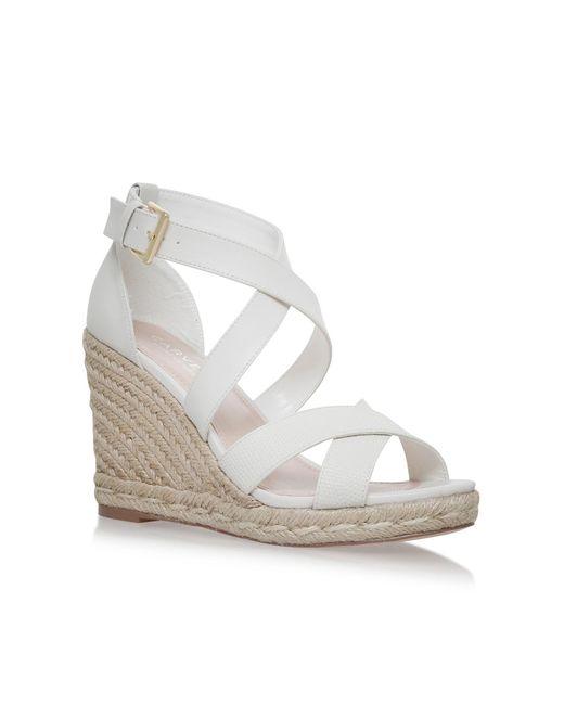 Carvela Kurt Geiger   White Smashing Sandals   Lyst