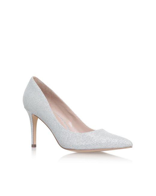 Carvela Kurt Geiger   Metallic Kray2 High Heel Court Shoes   Lyst