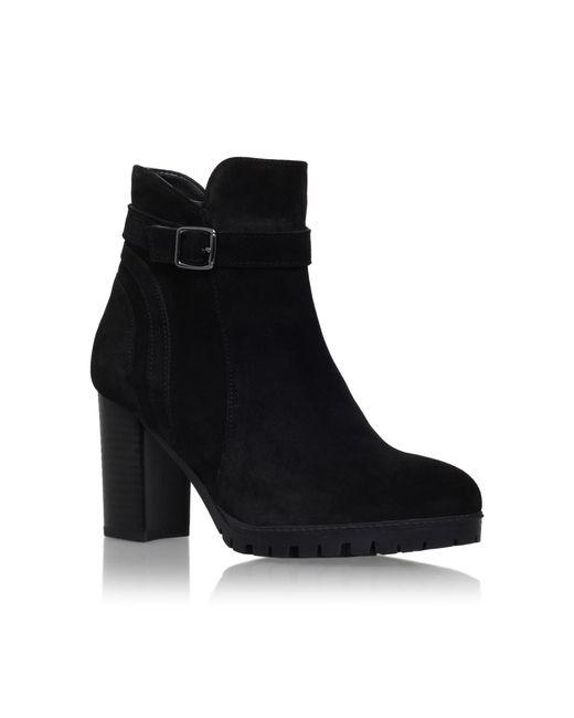 Carvela Kurt Geiger - Black Support High Heel Ankle Boots - Lyst