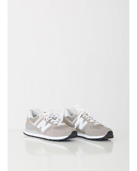 fa7deb625c1ee ... New Balance - Gray 574 Core Sneakers - Lyst ...