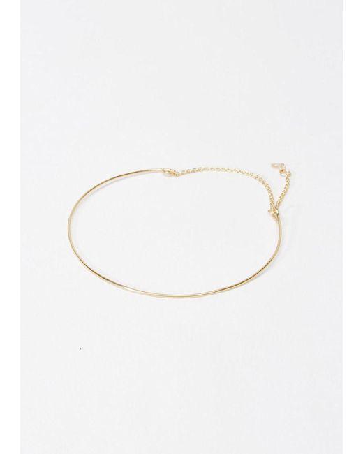 Saskia Diez | Metallic 18k Gold Wire Bracelet | Lyst