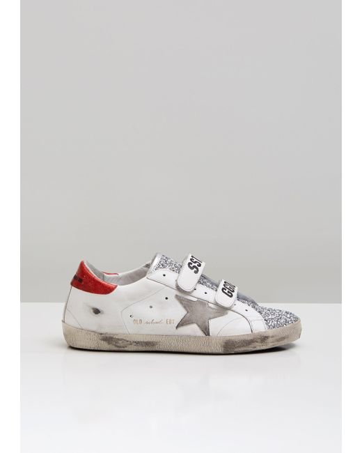 Golden Goose Deluxe Brand - White Superstar Old School Sneakers - Lyst ... 6d3d5d021a5