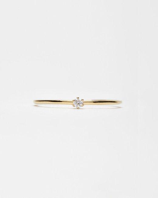 Satomi Kawakita   Metallic Baby Diamond Ring   Lyst