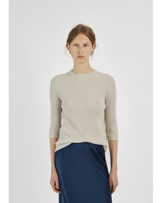 6397 Ribbed Cashmere Sweater | Lyst