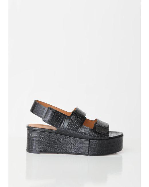 6fae94afc6b88 Clergerie - Multicolor Arena Croc Platform Sandals - Lyst ...