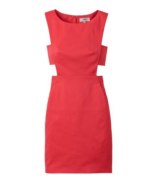 Laila Azhar | Red Cutout Dress | Lyst