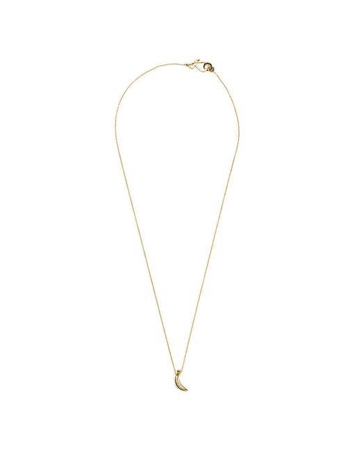 Sophie Bille Brahe - Metallic 'banane Josephine' Diamond 14k Yellow Gold Pendant Necklace - Lyst
