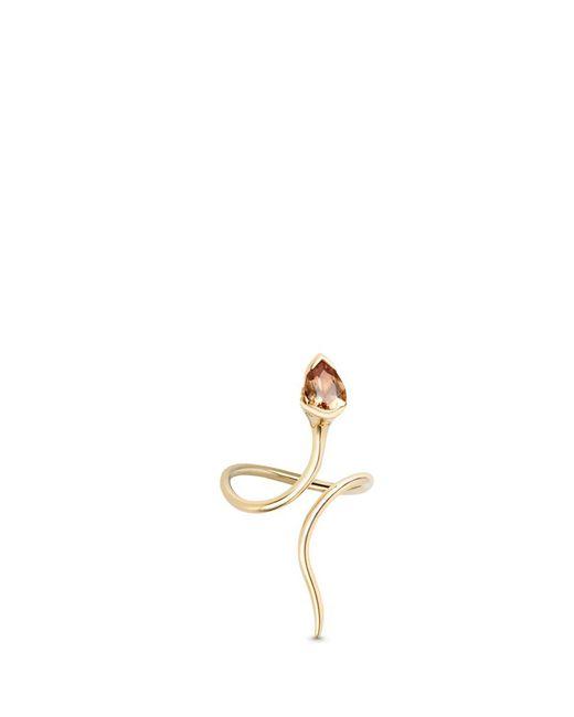 Fernando Jorge - Metallic 'sprout' Diamond Topaz 18k Gold Long Ring - Lyst
