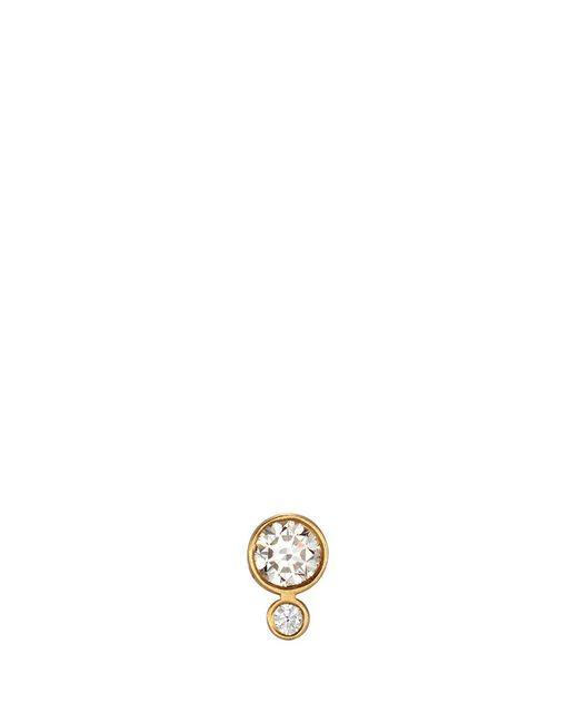 Sophie Bille Brahe | Metallic 'lulu Claire' Diamond 18k Yellow Gold Single Earring | Lyst