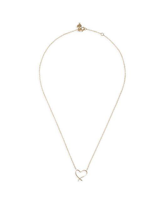 Stephen Webster - Metallic 'neon Heart' 18k Yellow Gold Pendant Necklace - Lyst