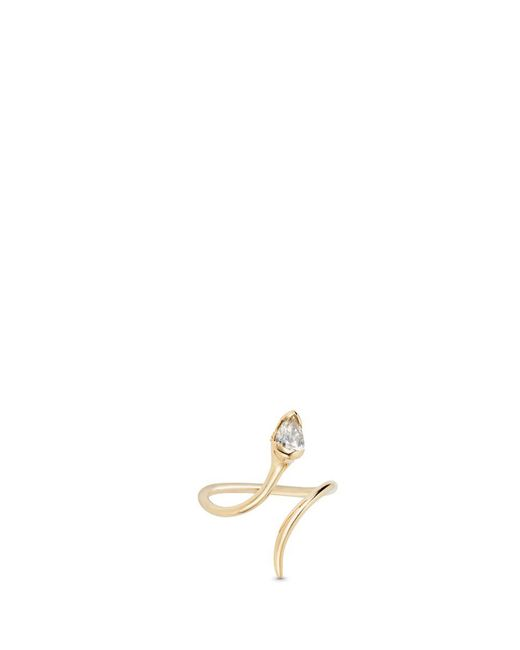 Fernando Jorge - White Sprout' Diamond 18k Gold Open Ring - Lyst