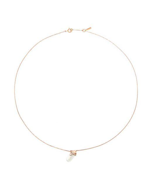 Bao Bao Wan   Metallic 'little Baby Bottle' 18k Gold Diamond Pearl Necklace   Lyst