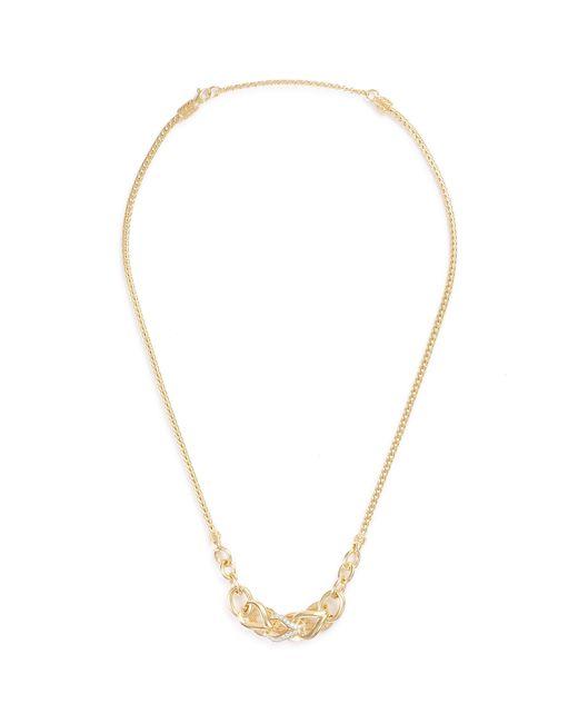 John Hardy - Metallic 'asli Classic Chain' Diamond 18k Yellow Gold Mini Pendant Necklace - Lyst