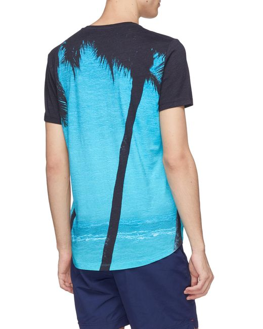 99571bb9c Lyst - Orlebar Brown Breeze Graphic Tee in Blue for Men - Save 10%
