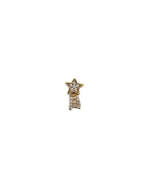 Loquet London | Metallic 18k Yellow Gold Diamond Shooting Star Charm - Make A Wish | Lyst