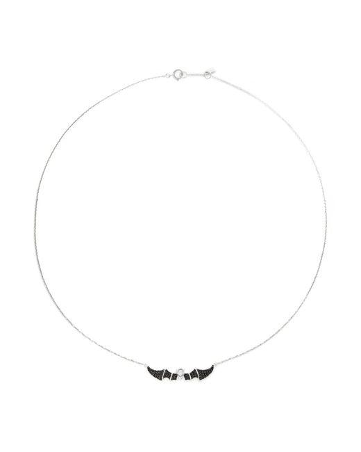 Bao Bao Wan | Metallic 'little Bat' 18k Gold Diamond Necklace | Lyst