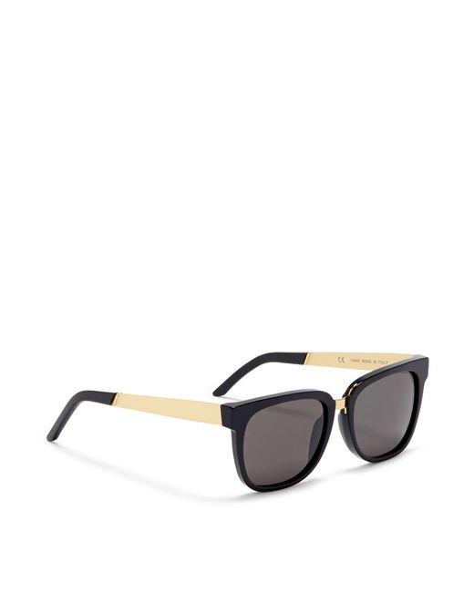 Retrosuperfuture people D-frame Acetate Sunglasses in ...