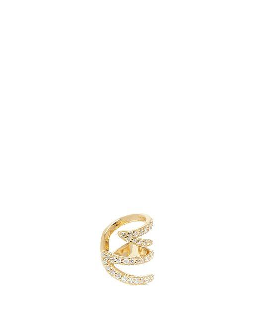 Phyne By Paige Novick | Metallic 'stella' 18k Gold Diamond Pavé Winged Ear Cuff | Lyst