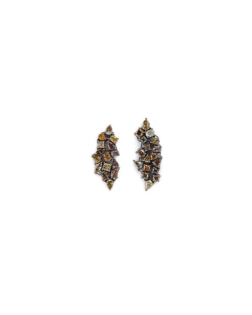 Monique Péan - Metallic 'atelier' Diamond 18k Gold Earrings - Lyst