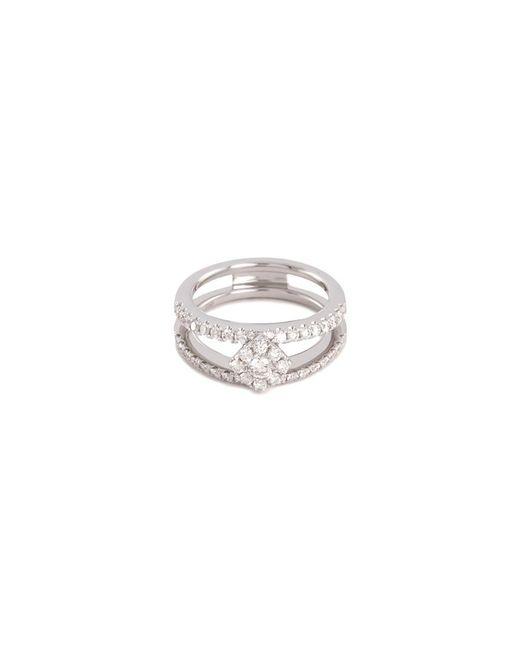 LC COLLECTION - Metallic Diamond 18k White Gold Ring - Lyst