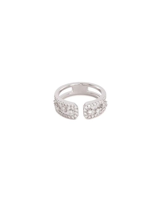 LC COLLECTION - Metallic Diamond 18k White Gold Ring - Lyst