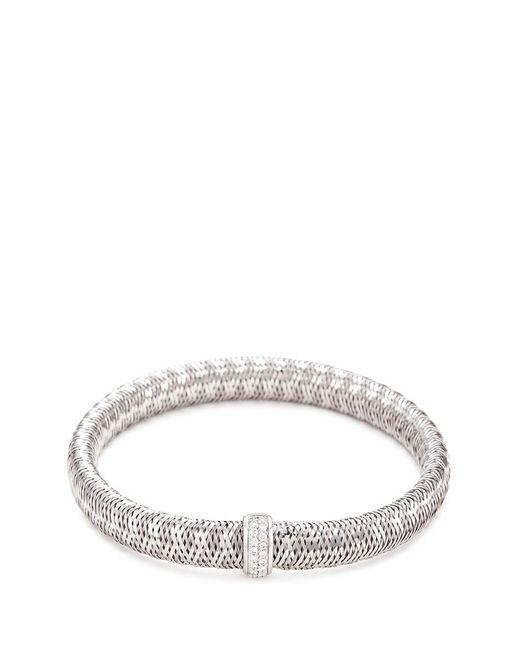 Roberto Coin | Metallic 'primavera' Diamond 18k White Gold Bracelet | Lyst