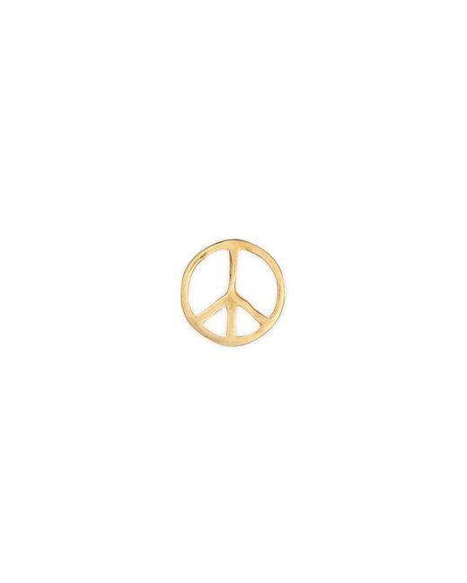 Loquet London - Metallic 'peace' 18k Yellow Gold Charm – Serenity - Lyst
