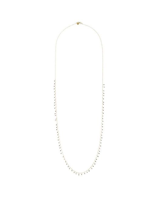 Ila & I - Metallic 'genevive' Diamond 14k Gold Necklace - Lyst
