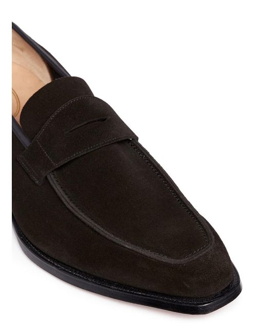 Thomas Leather Monk-strap Shoes - BlackGeorge Cleverley GmVLn